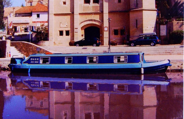 Shared narrow boat Amethyst