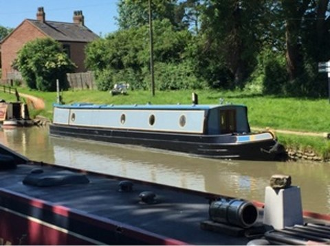 Shared Narrow Boat Beaulieu